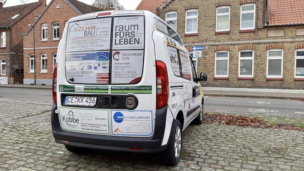 Rollstuhl Auto mieten in Celle