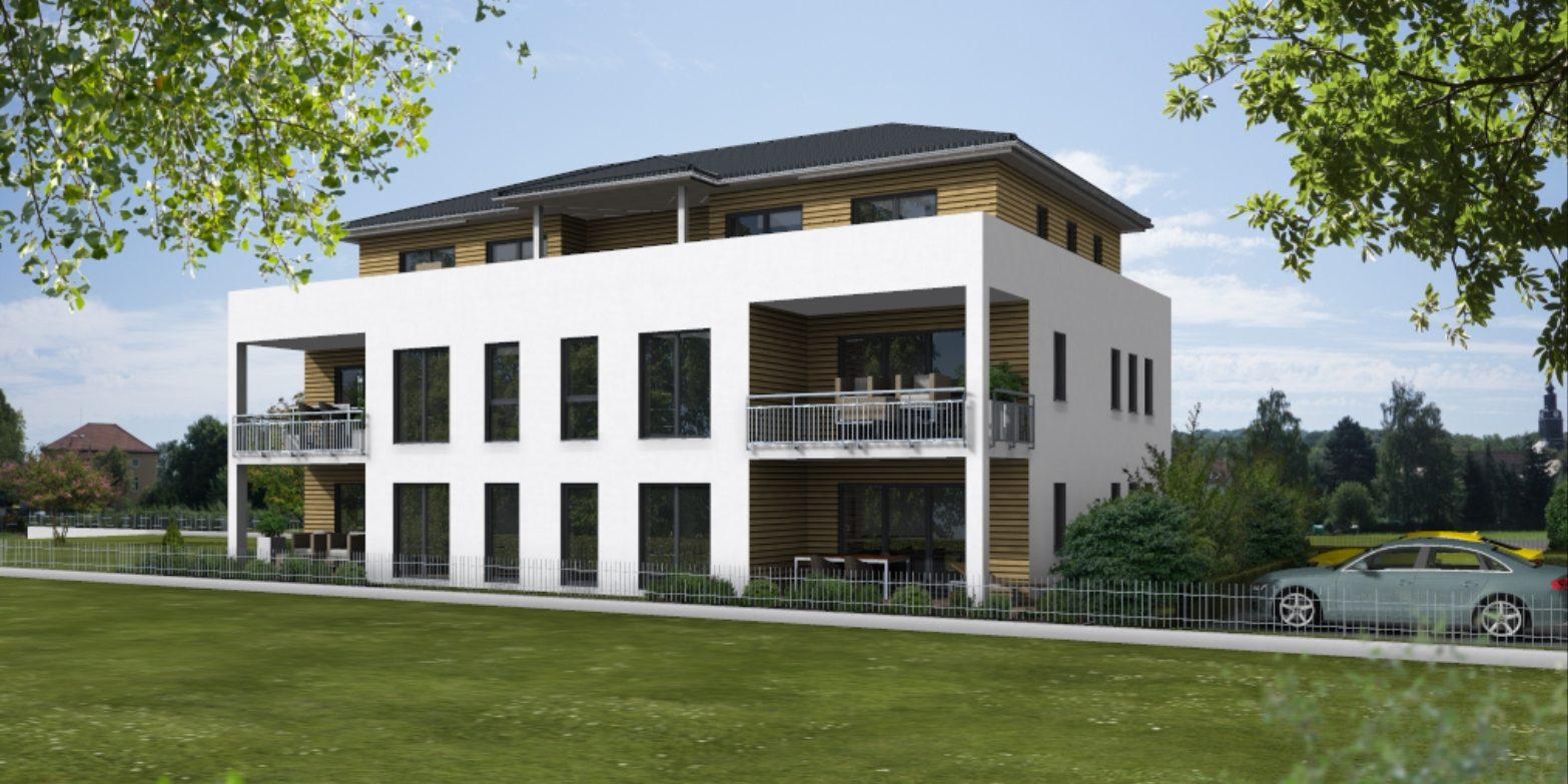 Planung Mehrfamilienhaus mit Penthaus